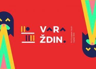 Službeni vizual 'Varaždin for European Youth Capital 2022'