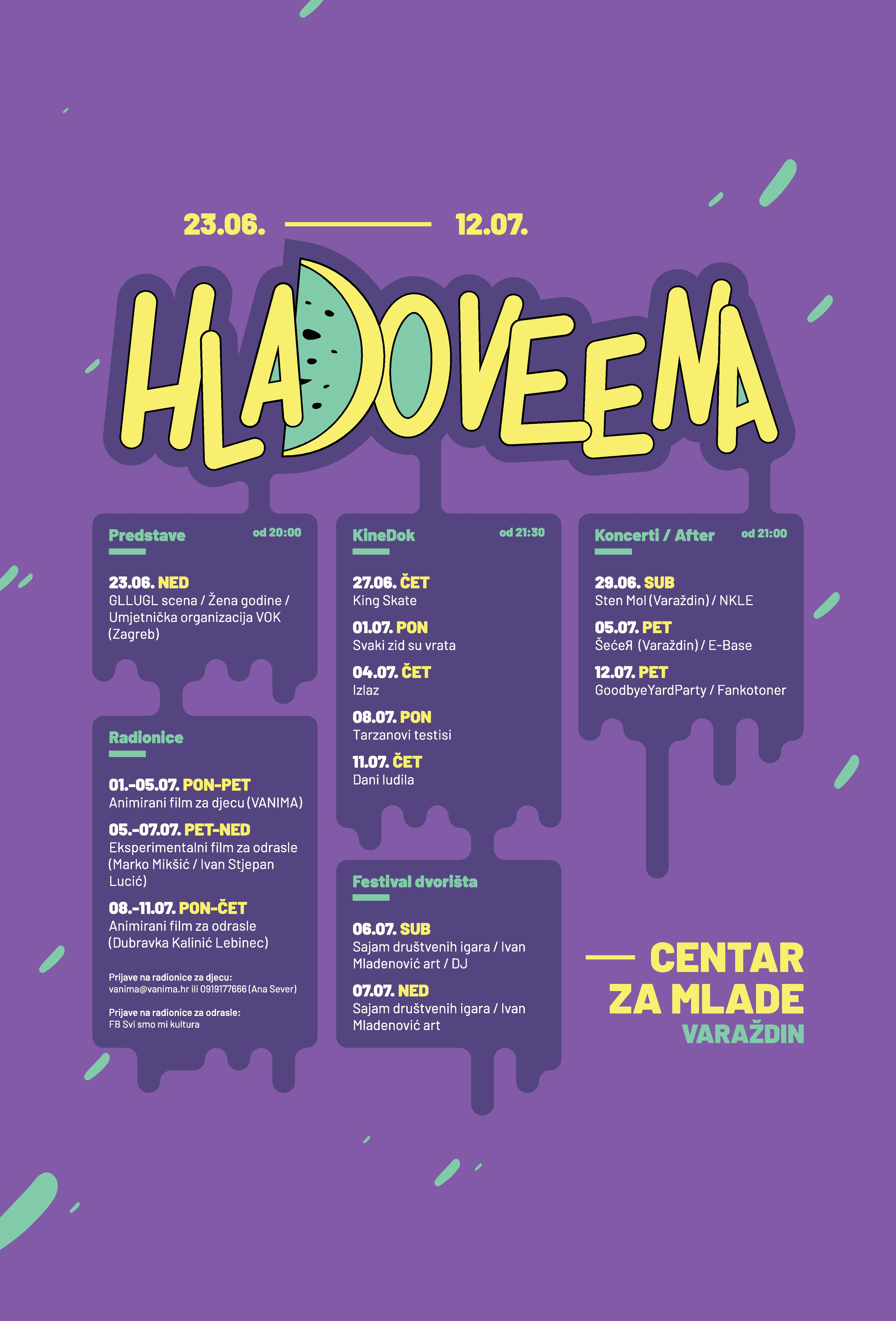 Hladoveena 2019 PROGRAM